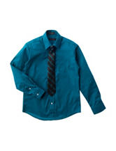 Dockers® Dress Shirt & Tie Set - Boys 8-20