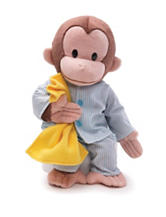 Gund Pajamas Curious George Plush Toy