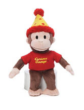Gund Birthday Curious George