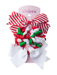 Riviera 3-pc. Christmas Bow Set