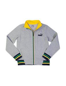 Puma Grey Lightweight Jackets & Blazers