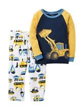 Carter's® 2-pc. Husky Front Loader Pajama Set - Boys 10-12