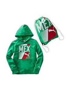 Puma Mexico Olympic Hoodie & Bag Set - Boys 8-20