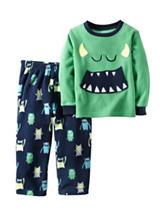 Carter's® 2-pc. Husky Monster Face Pajama Set - Boys 8-20