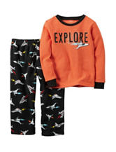 Carter's® 2-pc. Husky Explore Pajama Set - Boys 8-20