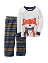 Carters® 2-pc. Fox Shirt Pajama Set - Boys 10-12