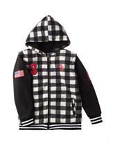 U.S. Polo Assn. Checkered Print Hoodie - Boys 8-20