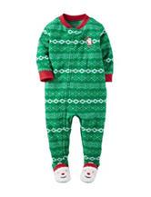 Carter's® Santa Footed Fleece Pajama - Boys 10-12