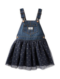 OshKosh B'gosh® Denim & Tulle Skirtall - Toddler Girls