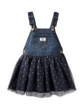 OshKosh B'gosh® Denim & Tulle Skirtall - Toddler Girls