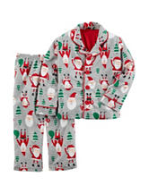 Carters® 2-pc. Santa & Tree Print Pajama Set - Boys Husky