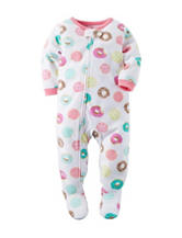 Carter's® Donut Print Sleep & Play - Toddler Girls