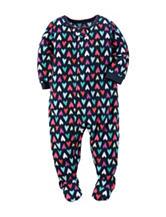 Carter's® Heart Print Sleep & Play - Toddler Girls