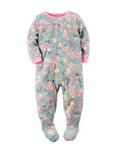 Carter's® Floral Print Sleep & Play - Toddler Girls