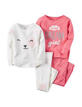 Carter's® 4-pc. Daddys Dream Girl Pajama Set - Girls 4-8