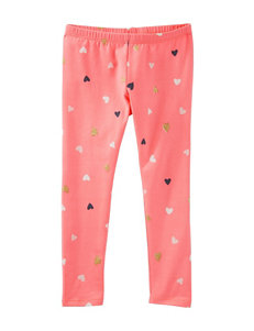 OshKosh B'gosh® Multicolor Heart Print Leggings - Girls 4-8