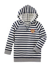OshKosh B'gosh® Striped Print Hoodie - Toddler Girls