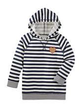 OshKosh B'gosh® Striped Print Hoodie - Toddler Girls