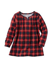 OshKosh B'gosh® Plaid Print Woven Dress - Toddler Girls