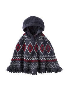 OshKosh B'gosh® Fairisle Print Poncho Sweater - Girls 4-8