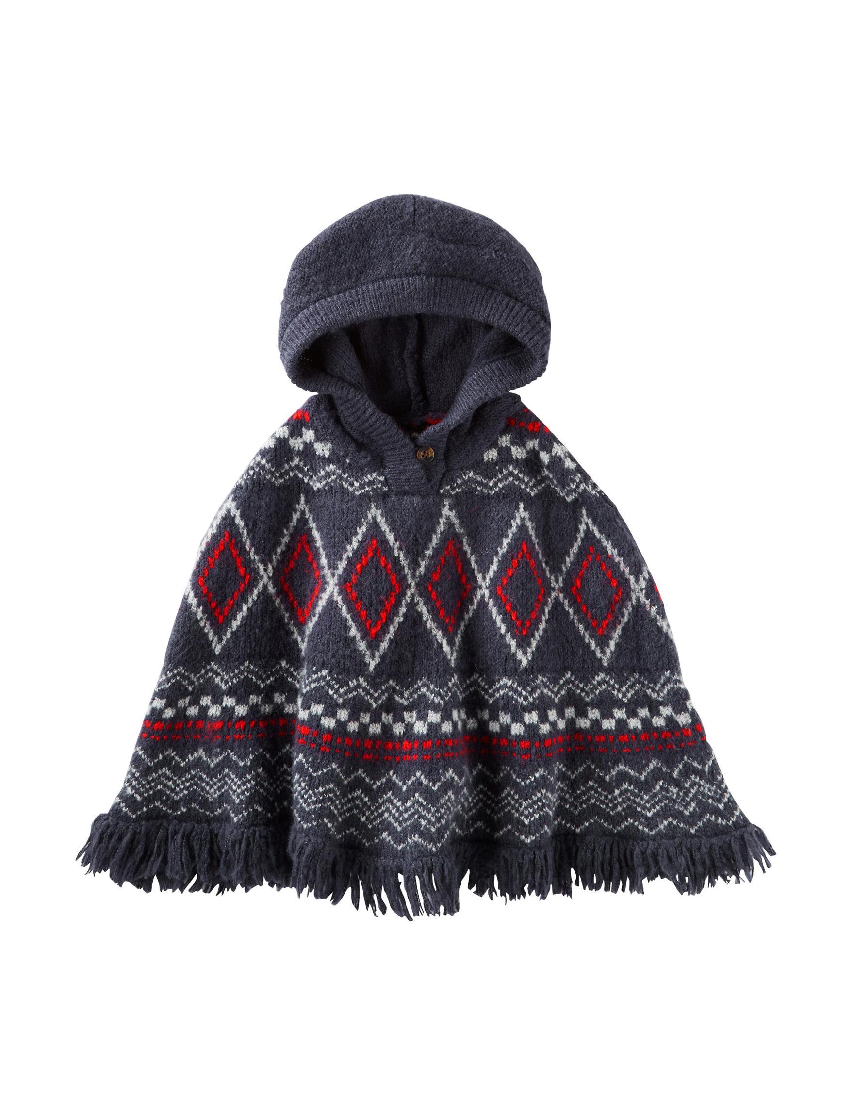 Oshkosh B'Gosh Print Ponchos Sweaters