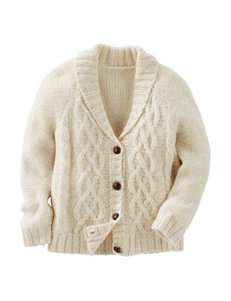 OshKosh B'gosh® Cable Knit Cardigan - Toddler Girls