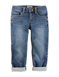 OshKosh B'gosh® Light Wash Denim Pants - Girls 4-8