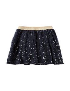 OshKosh B'gosh® Navy Sequin Skirt - Girls 4-6