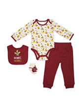 Baby Gear 4-pc. Thanksgiving Pants Set - Baby 0-12 Mos.