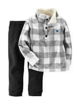 Carter's® 2-pc. Buffalo Check Print Jacket & Pants Set - Toddler Boys