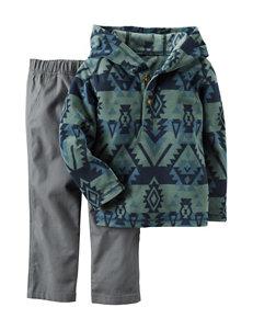Carter's® 2-pc. Aztec Print Sweater & Pants Set - Toddler Boys