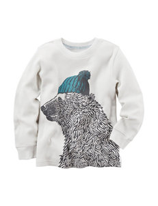 Carter's® Bear Screen Print Thermal T-shirt - Boys 4-8