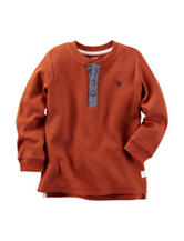Carter's® Thermal Henley T-shirt - Toddler Boys