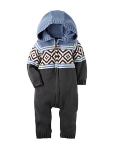 Carter's® Knit Sweater Coverall - Baby 3-18 Mos.