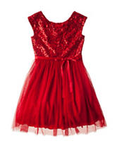 Speechless Sequin Bodice Tulle Dress - Girls 7-16