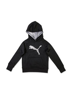 Puma® Cat Logo Athletic Hoodie - Girls 7-16