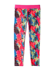 Puma Multicolor Abstract Print Leggings - Girls 7-16