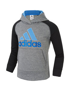 Adidas Black Heather Pull-overs