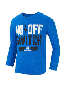adidas® Bright Blue No Off Switch T-shirt - Toddler & Boys 4-7