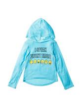Twirl Emoji Hoodie Top - Girls 7-16