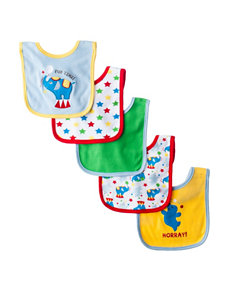 Baby Gear 5-pk. Circus Themed Bibs