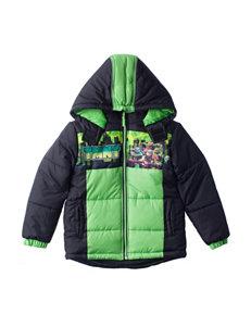 Nickelodeon Teenage Mutant Ninja Turtles Puffer Jacket - Boys 4-7