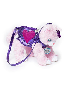 Poochie & Co. Pink Kitty Bag