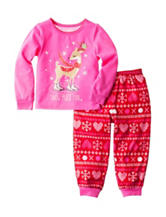 Komar 2-pc. Snow Much Fun Pajama Set - Toddler Girls