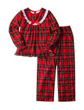 Komar 2-pc. Plaid Pajama Set - Girls 4-16