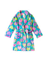 Komar Heart Print Robe - Girls 4-16