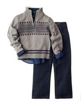 Nautica 3-pc. Sweater & Pants Set - Boys 4-7