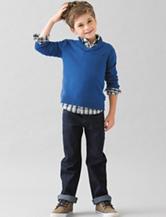 Nautica 3-pc. Blue Sweater & Pants Set - Boys 4-7
