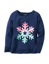 Carter's® Snowflake Top - Toddler Girls