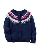 Carter's® Navy Sweater - Toddler Girls